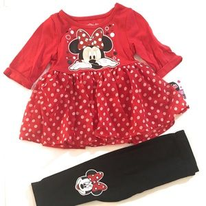 Minnie Mouse Legging Set